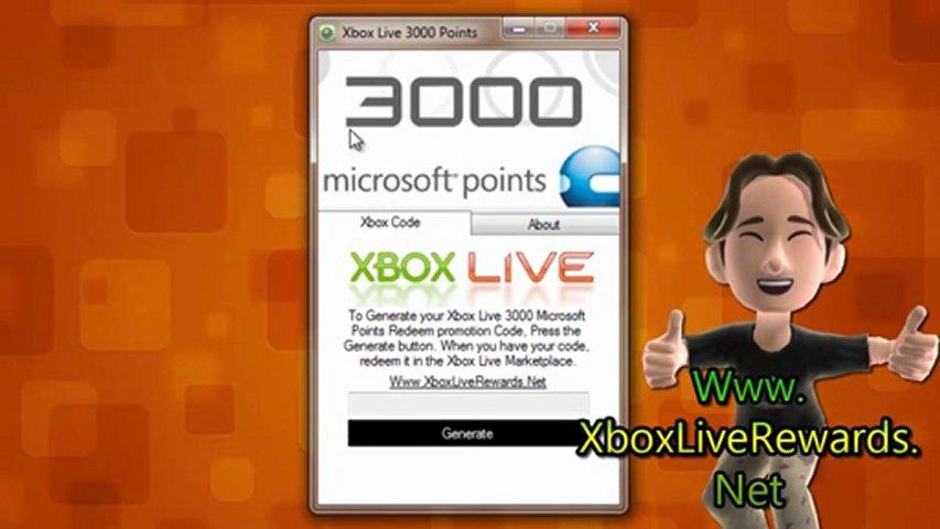 how to redeem xbox live rewards points