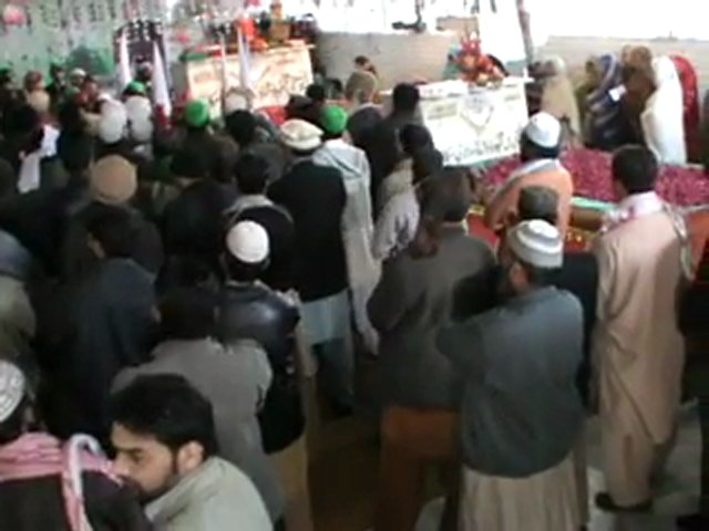 Rally at Darbar Syed Sakhi Mehmood Badshah(R.A) on 12-Rabi ul Awwal 2012- 2/2 part | PopScreen