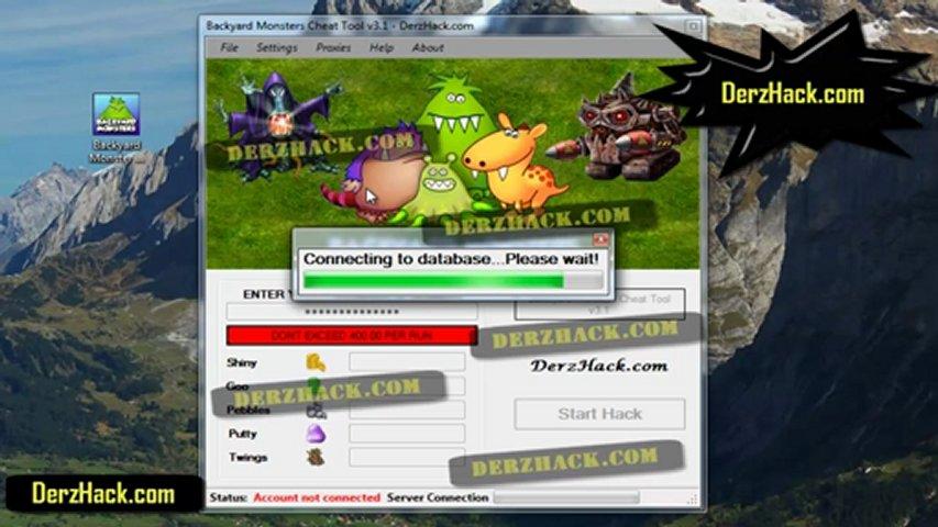 Game Room Hack Backyard Monster