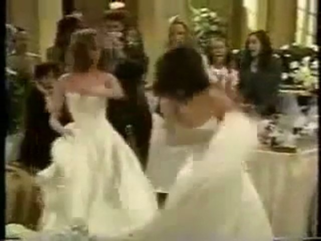 Greenlee and Kendall in Wedding Fight, TV Catfight.