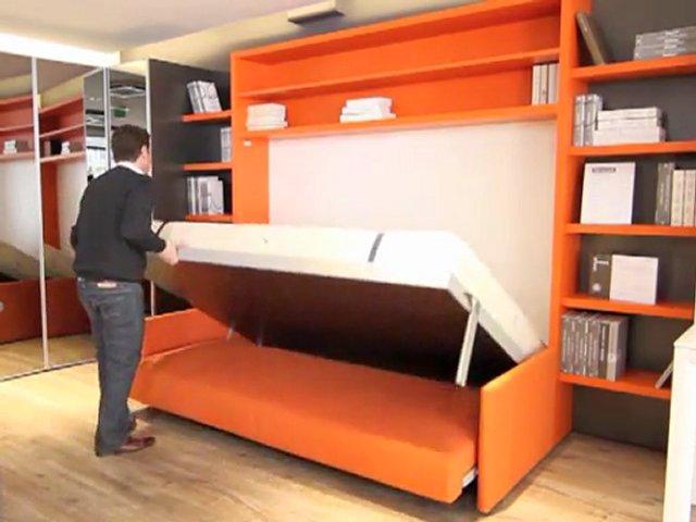 bimodal armoire lit avec canap popscreen On armoire lit avec canape