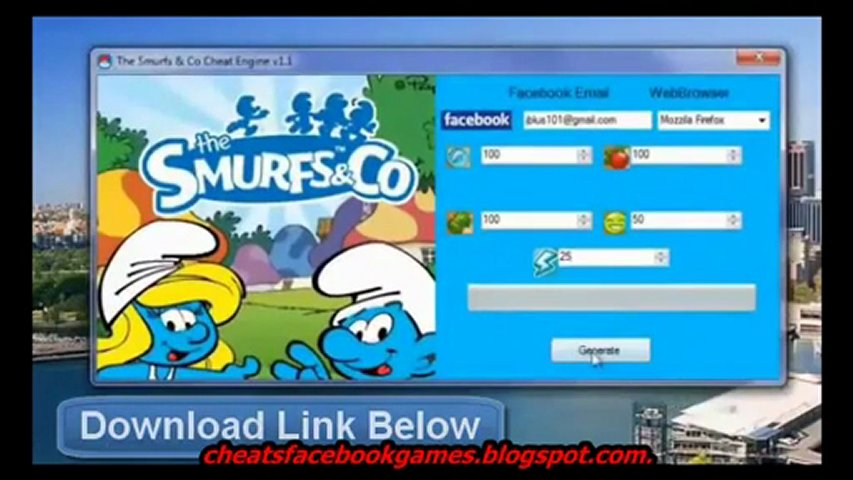 The Smurfs And Co Hack Cheat [FREE Download] April 2012 Update Working