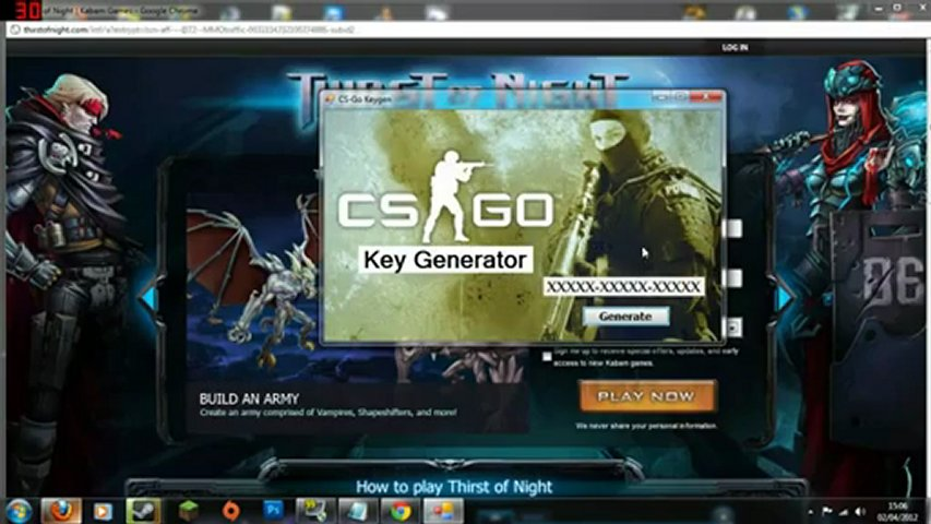 CS.GO Keygen [2012] Serial | Keygen Crack | FREE Download | PopScreen