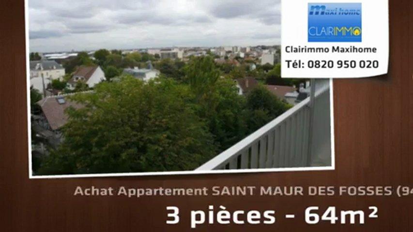 A vendre appartement saint maur des fosses 94100 3 for Achat maison saint maur