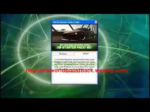 Need for Speed World Boost Hack 2012 NFS World Speed/boost hack 2012