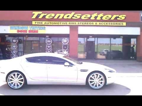 Trendsetters Dallas Aston Martin Rapide Forgiatos | PopScreen