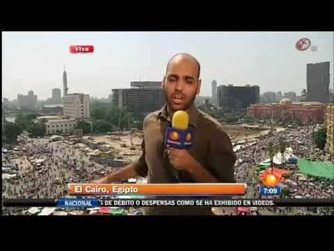 Tensión en Egipto 22 Junio 2012 Junta Militar egipcia acusa a Hermanos Musulmanes de la división | PopScreen