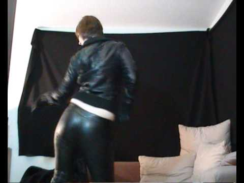 dancing in sexy leather pants | PopScreen