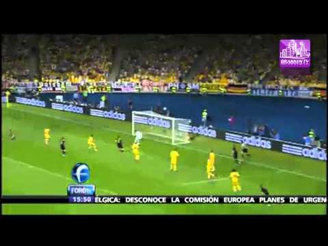 Goles Francia vs. Inglaterra. Ucrania vs. Suecia EUROCOPA 2012 | PopScreen
