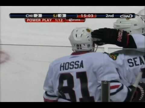 Blackhawks: 3 short-handed goals in one game. [11/25/2009] | PopScreen