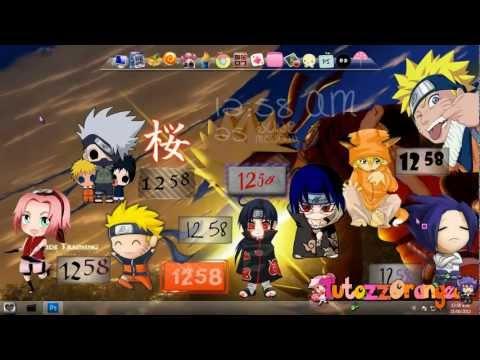 Naruto Renders, Wallpapers & Skins Rainmeter | PopScreen