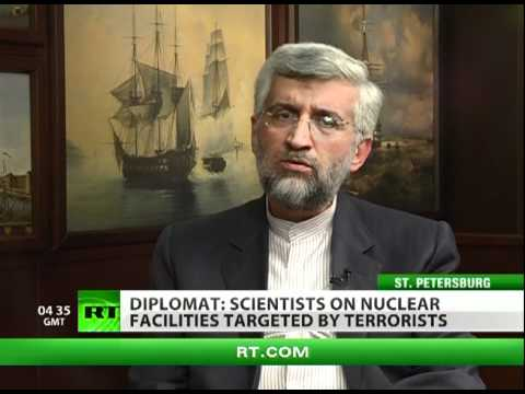 Iran's nuclear negotiator to RT: We're strongly against weapons of mass destruction | PopScreen