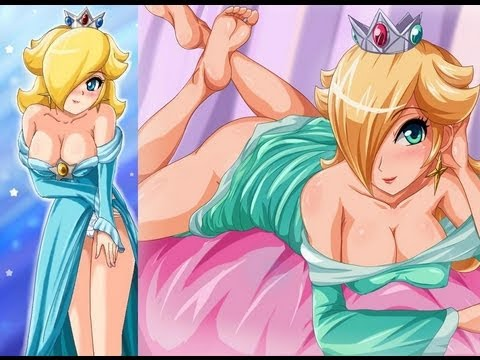 Sexy Princess Rosalina art drawings! Peach and Daisy! - by Sigurdhosenfeld | PopScreen