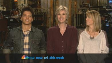SNL Promo: Jane Lynch and Bruno Mars | PopScreen