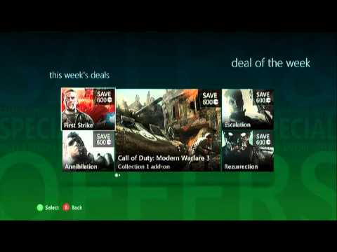 ALL MW3 & BLACK OPS DLC's 1/2 OFF! (Xbox Only) | PopScreen