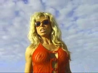 Terri Runnels On A Beach Popscreen