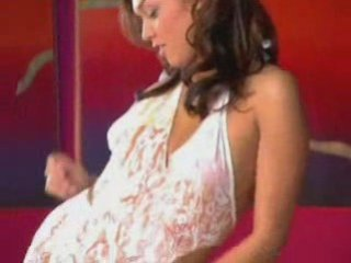 Hot milf upskirt thong panties with miniskirt dress | PopScreen