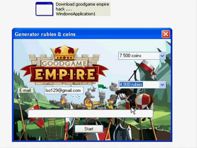 Goodgame Empire Hack Free Download Generator Coins And Rubies