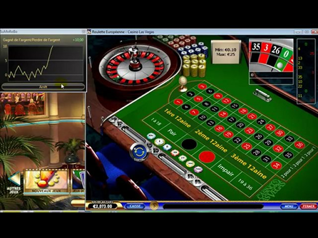 Robot roulette casino