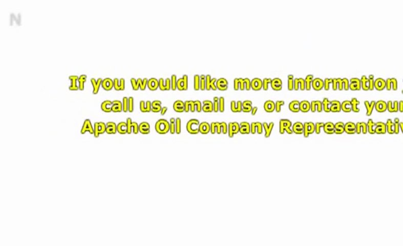 What Type Of Oil Should I Use Apache Oil Company