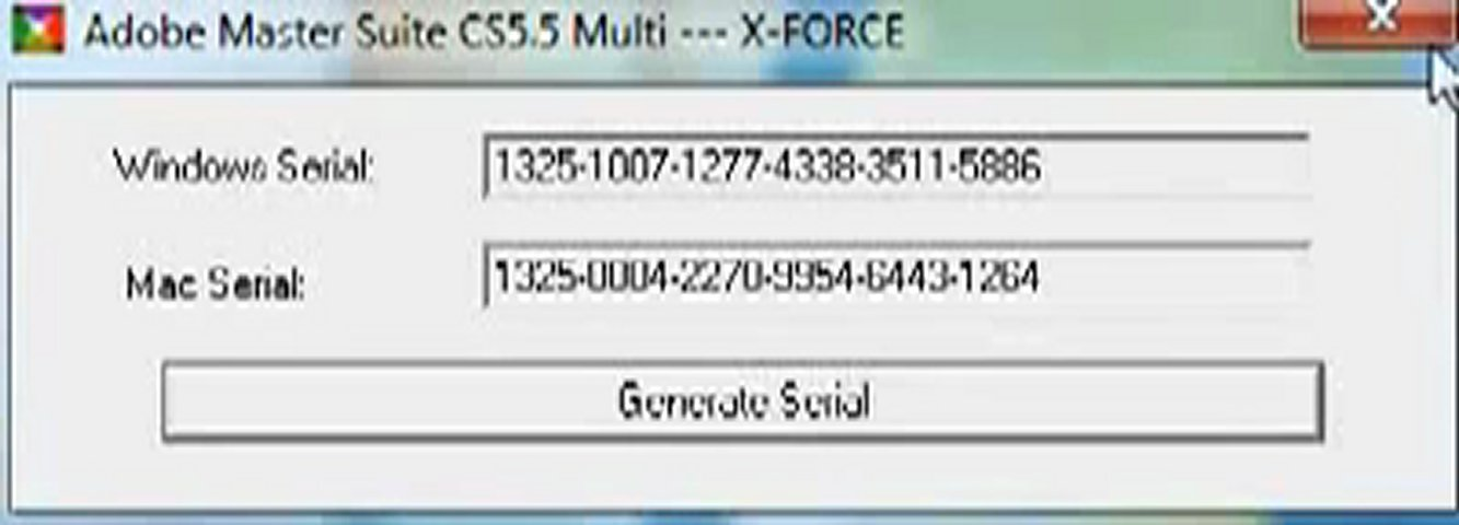 adobe suite master collection cs5 serial number