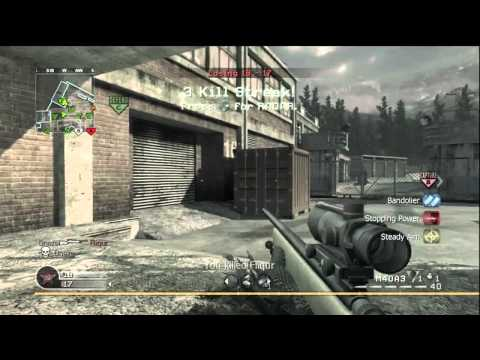 COD4 - SICKEST 3 PIECE SUICIDE SHOT EVER? | PopScreen