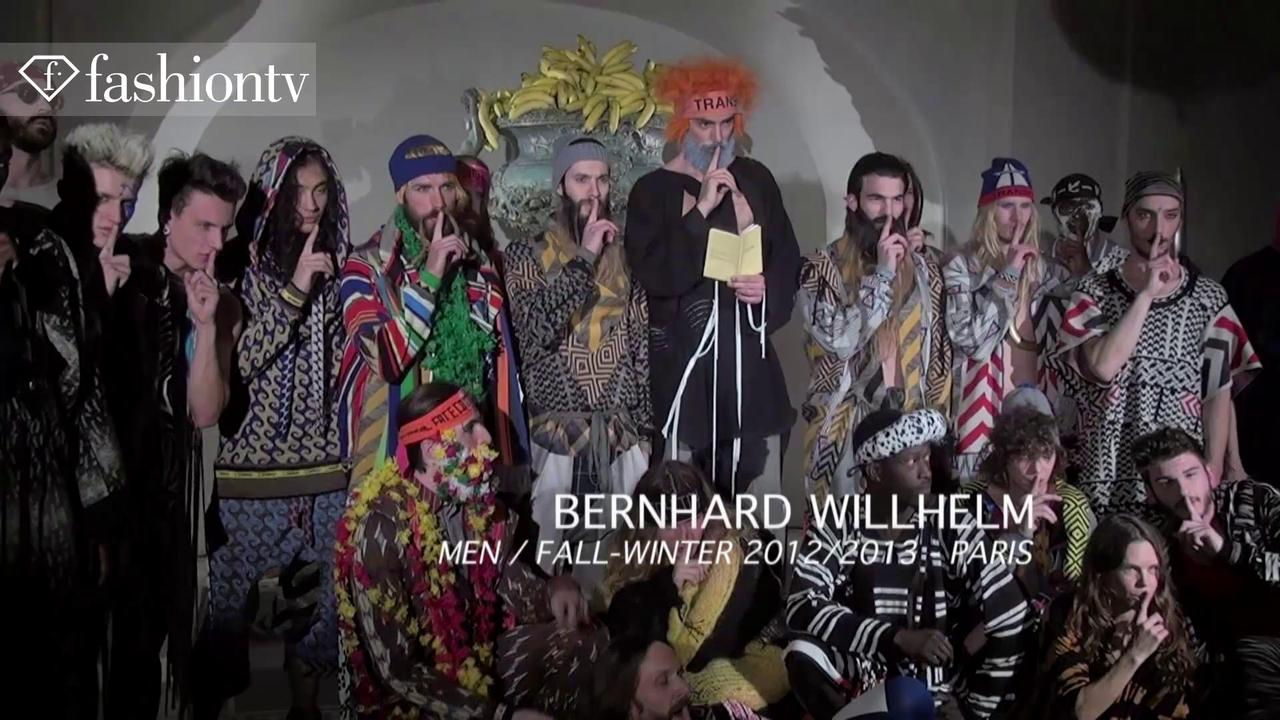 Bernhard Wilhelm Men Fall 2012 Show at Paris Men's FW | FTV