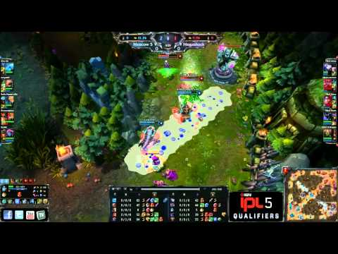 Moscow Five vs Megashock - Game 1 - IPL5 EU Open Regionals 2 - League of Legends | PopScreen