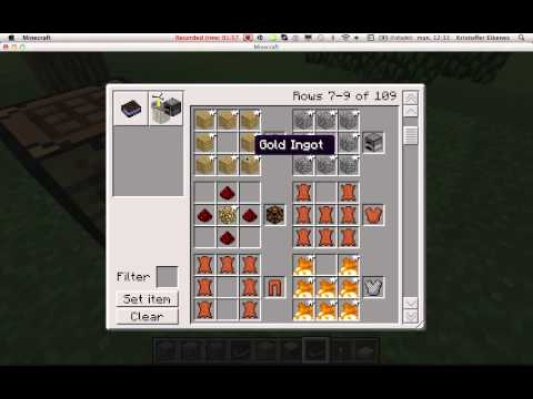 Minecraft Crafting Guide Mod