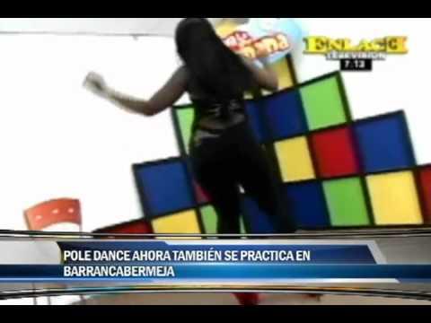 El Pole dance ahora también se practica en Barrancabermeja | PopScreen