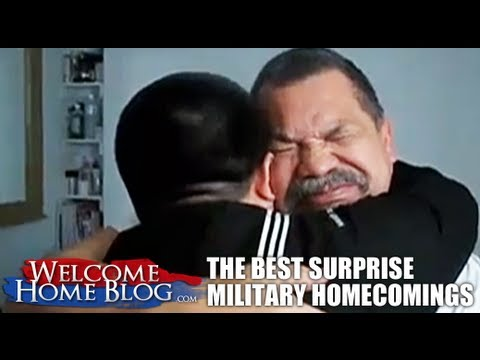 The Best Surprise Military Homecomings: PART FOUR | PopScreen