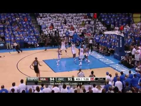 (HD) Miami Heat vs. Oklahoma City Thunder GAME 2 FULL HIGHLIGHTS | 2012 NBA Finals | 6.14.2012 | PopScreen