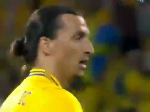 Sweden vs France 2-0 (Ibrahimovic Golazo vs France) Sverige 2x0 Frankrike 19/06/2012 | PopScreen