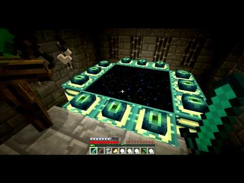 how to make an end portal in minecraft video