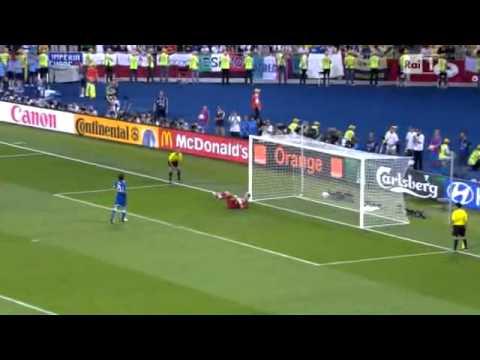 Rigore cucchiaio di Pirlo Italia Inghilterra 2012 HD | PopScreen