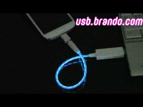 USB Visible Light Multi-Charge Short Cable | PopScreen