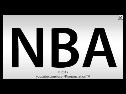 How To Pronounce NBA | PopScreen