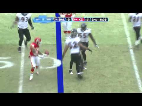 Ed Reed Big Hit on Dexter McCluster Against Chiefs | PopScreen