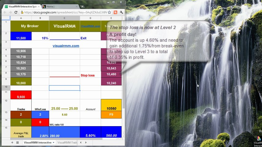 Trading tutorial 1 - VisualRMM Interactive | PopScreen