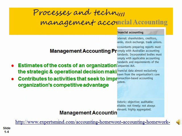accounting harmonization