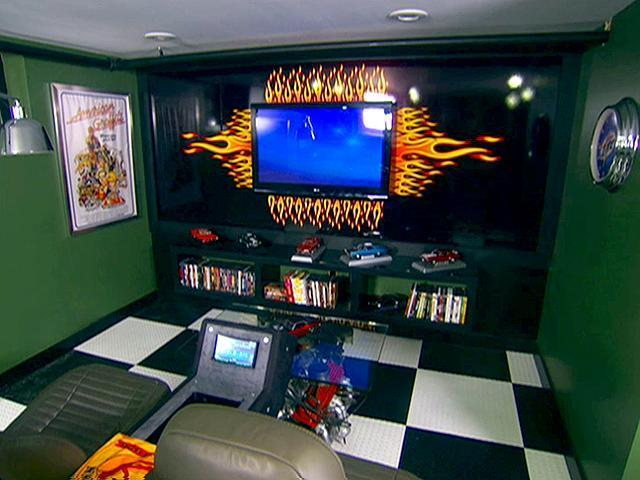 Car Themed Man Cave Furniture : Images about man caves on pinterest cave