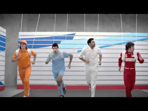 Spot Puma evoSPEED con Bolt, Alonso e Aguero | PopScreen