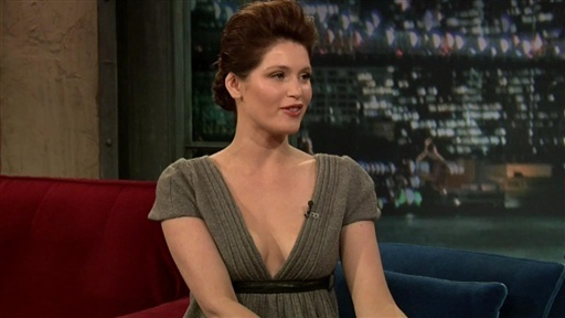 Late Night with Jimmy Fallon _ Gemma Arterton