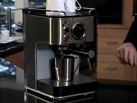 Cuisinart Espresso Maker Coffee Bar Collection (EM-100) How-To Video PopScreen