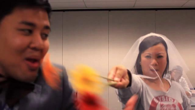 Best Bridal Party Glee Wedding Dance | 09.10.11 | PopScreen