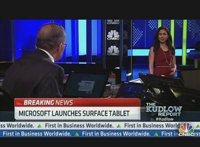 Microsoft Launches 'Surface' Tablet | PopScreen