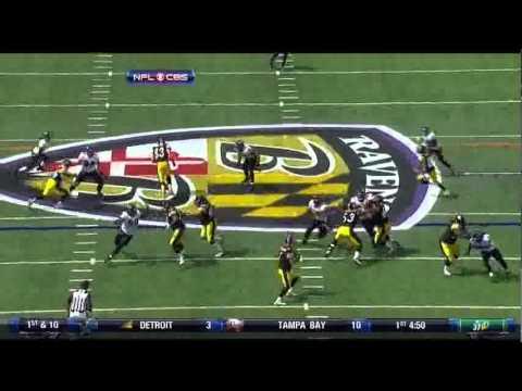 Terrell Suggs sacks Big Ben. Steelers@Ravens W1 | PopScreen