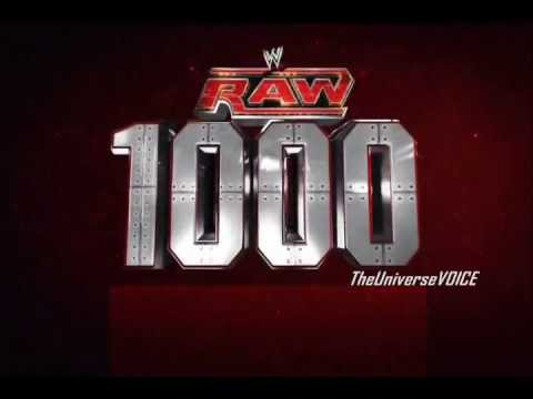 WWE Raw 1000th Episode Promo (7/23/12) 3-Hour Special [HD] | PopScreen