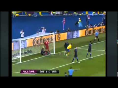 Sweden vs England - Euro 2012 - Highlights 2-3 -June 15 - Mellberg Carroll Walcott Welbeck Goals | PopScreen
