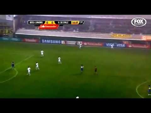 Boca (ARG) 2-0 Universidad (CHILE)- Semifinal La Copa Libertadores 2012 | PopScreen